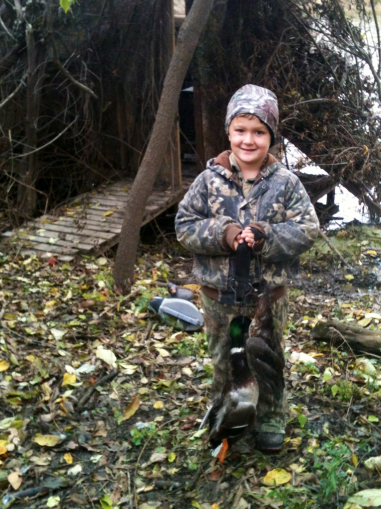 Brayden at duck blind (enhanced).JPG