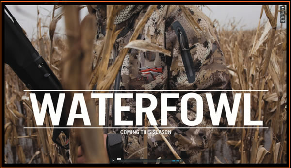 New Sitka Waterfowl Gear