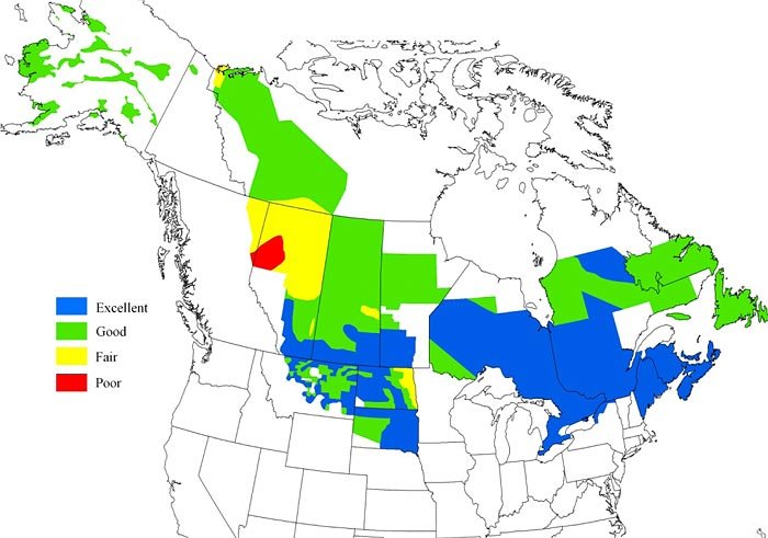 2011 Breeding Waterfowl Habitat Conditions Released